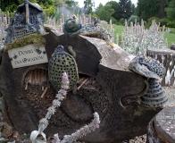 arboretum Wojsławice - domki dla owadów