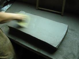 przygotowywanie gliny