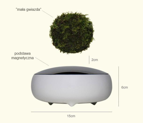 Podstawa magnetyczna Air Bonsai
